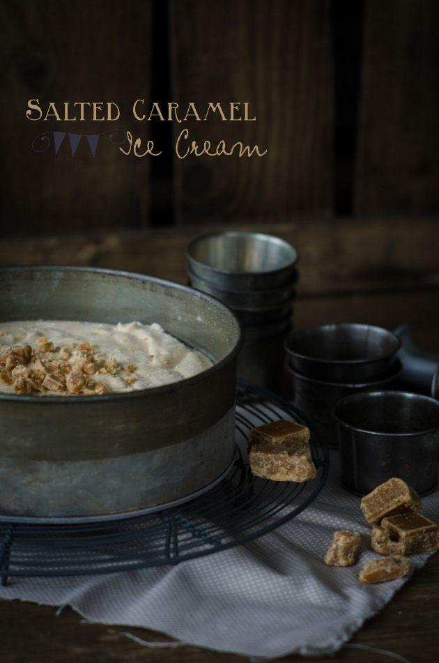 Louise´s Spis: Salted Caramel Ice Cream (Salt Karamell Glass)