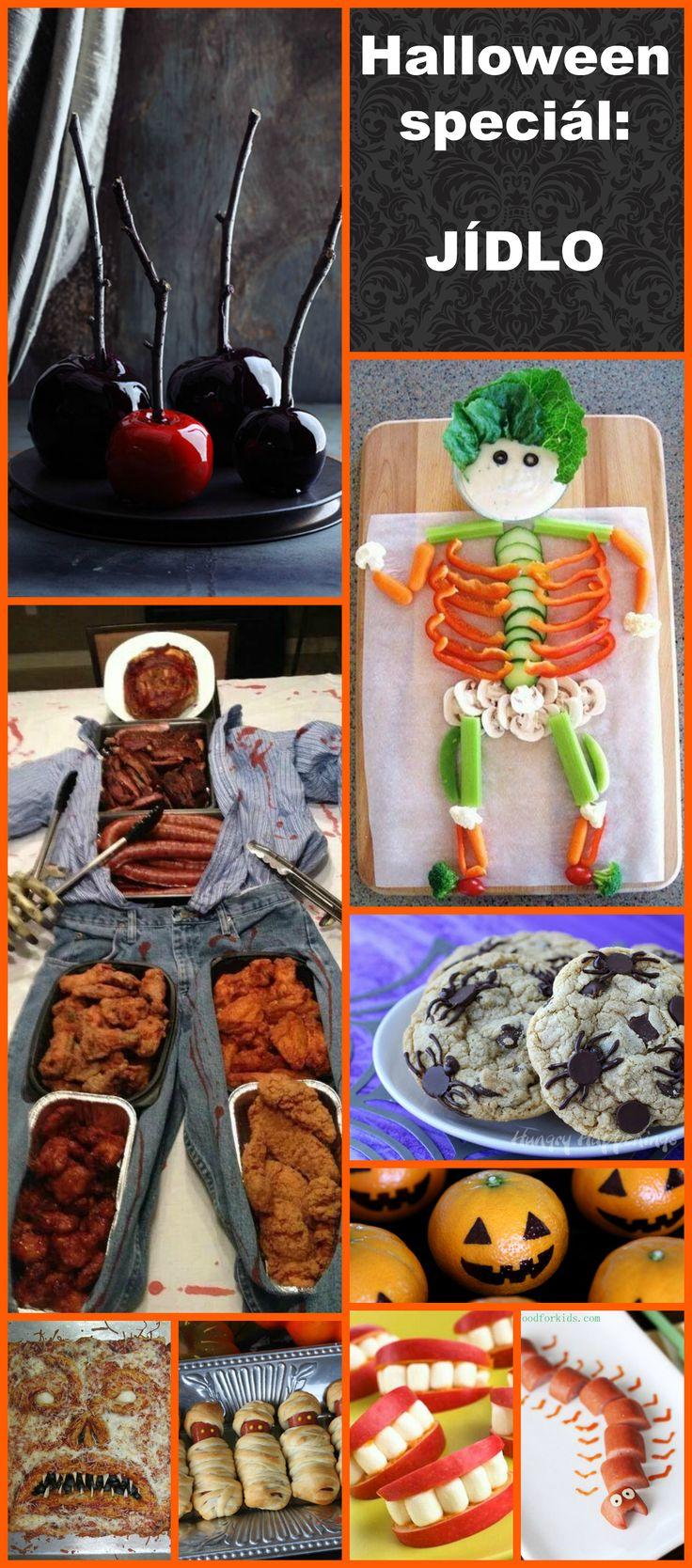 Halloween Speciál 2015: JÍDLO, občerstvení, párty výzdoba a #DIY dekorace. Vše co potřebujete pro letošní #Halloween. #dekorace #inspirace #party #jidlo #food