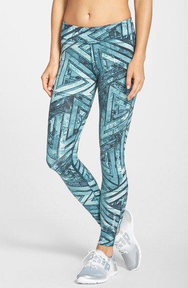 Reebok 'One Series' Graphic Print Leggings | Nordstrom
