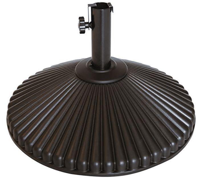 Abba Patio 50 lbs Round Patio Umbrella Base Recyclable Plastic