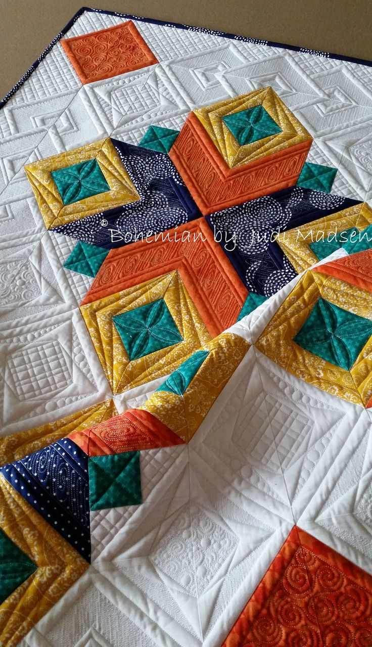 Bohemian by Judi Madsen - Green Fairy Quilts