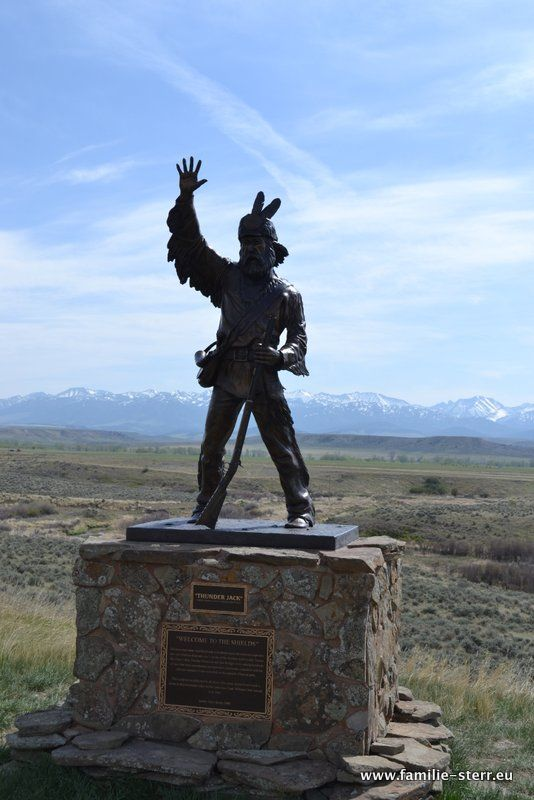 Thunder Jack Memorial, Montana