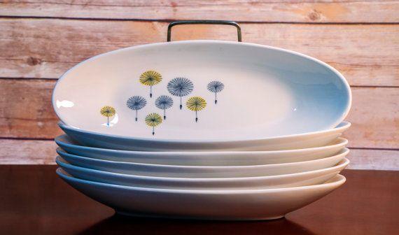 Arabia Herring Plates Hattara Design by Raija by EclecticKathy