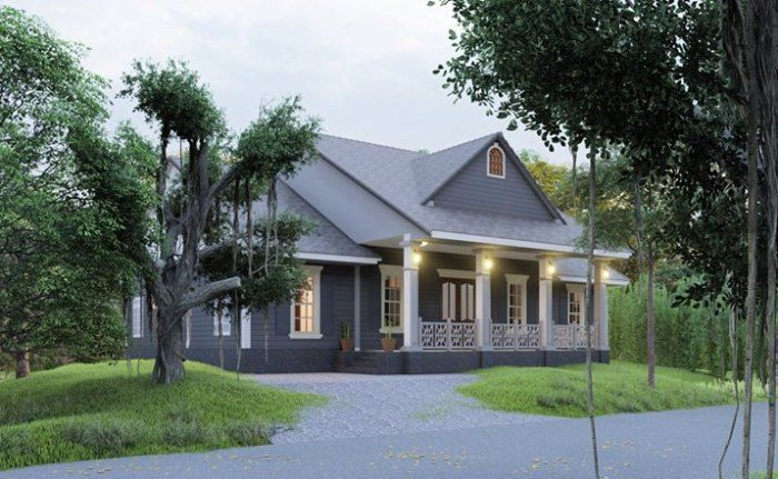 Beautiful Single Storey House Designs With Three Bedrooms Cool House Concepts In 2020 Affordable House Design House Design Bungalow House Plans