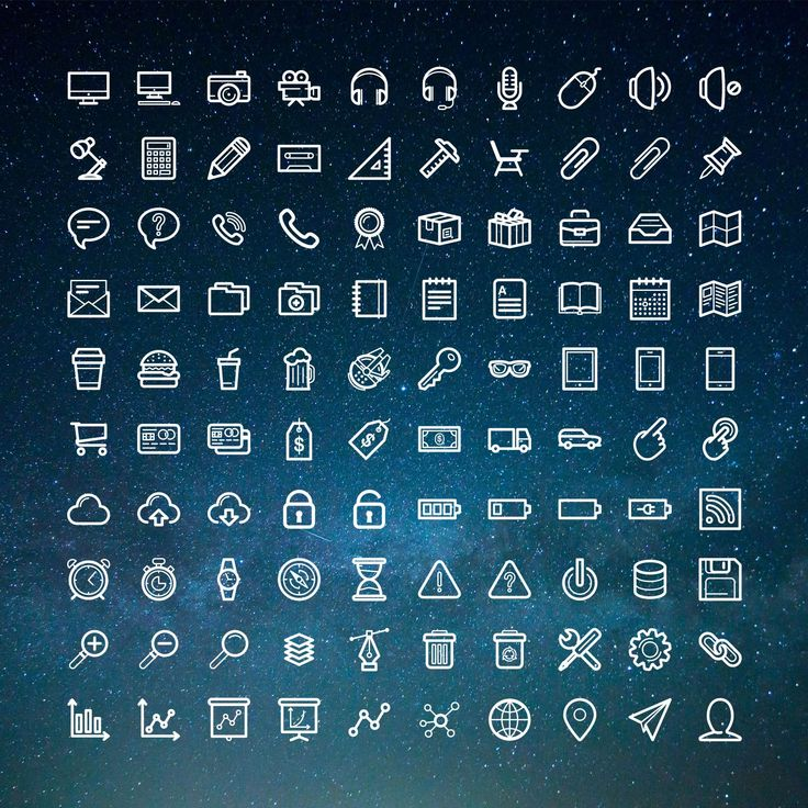 100 New Free Office Icons For Web and App