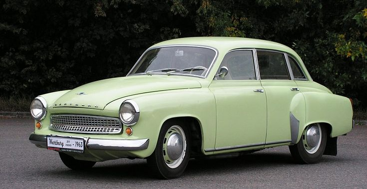 Wartburg 311 1963.