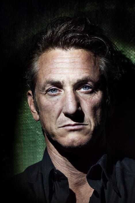 Sean Penn (born in Los Angeles County, California August 17, 1960) ... always dreamed of passing my hand through his bad boy's hair ...