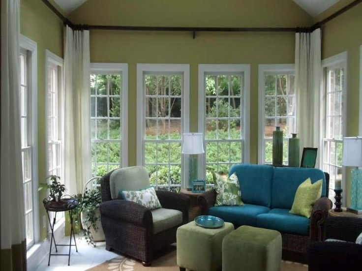 21 Best Window Treatments For Sunrooms Images On Pinterest
