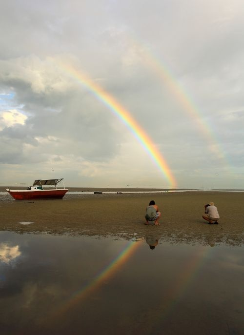 Rainbow in Belitung
