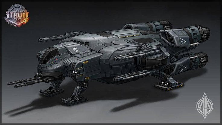 Spaceship concept by Team True
