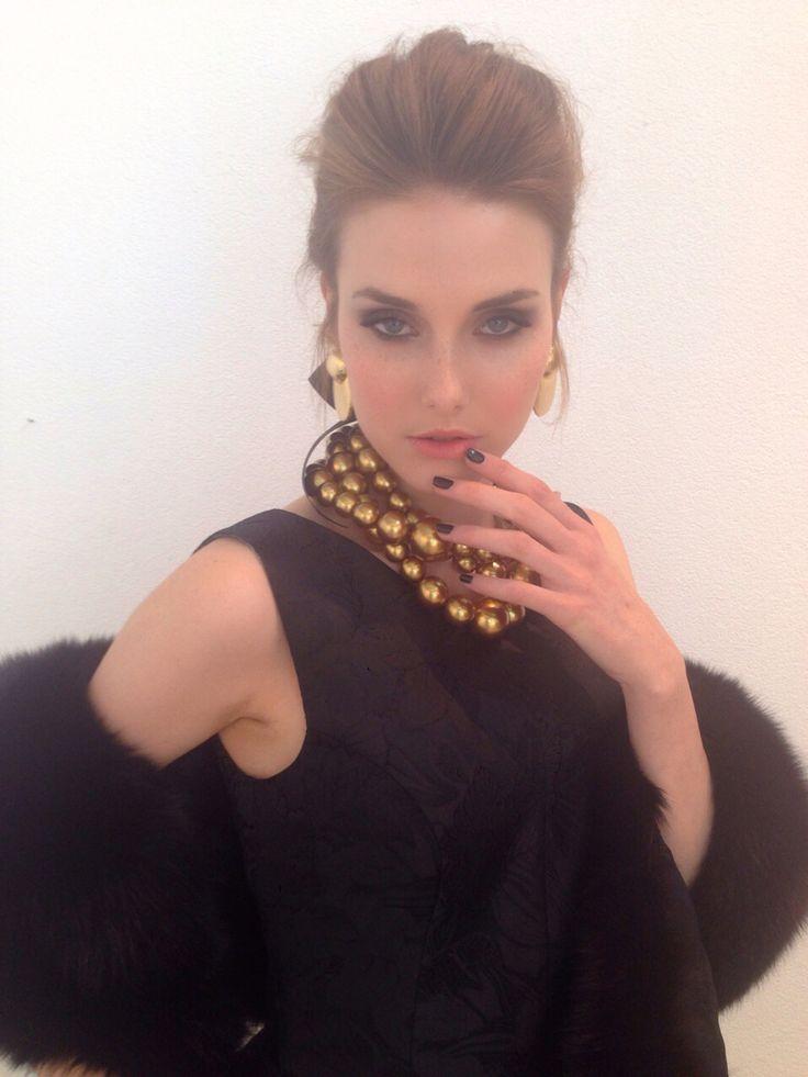 #hairstyling #makeup #backstage #fashion #GeorgeMarascas