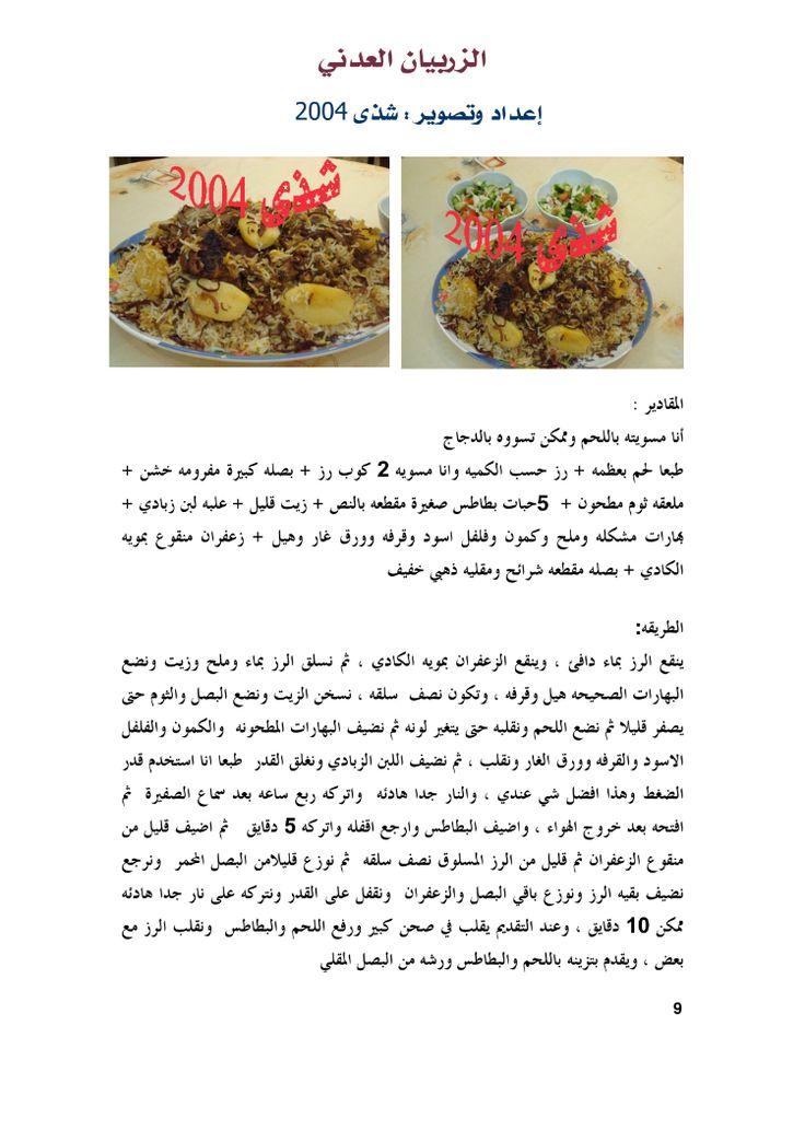 الزربيان العدني Dog Food Recipes Food Animals Food