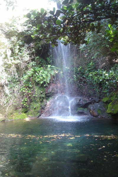"""""""Catarata Escondida"""", Guanacaste, Costa Rica  This is another amazing waterfall inside the Rincon de la Vieja National Park. It is slightly smaller than the La Cangreja waterfall, but it is just as impressive. There is a well-marked 4.3km trail to reach this waterfall."""