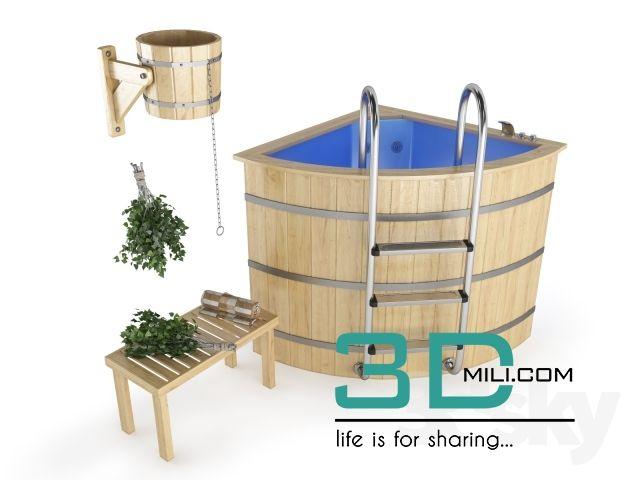 nice 08. Bathtub & Shower cubicle 3D model Download here: http://3dmili.com/room/bathroom/bathtub-shower-cubicle/08-bathtub-shower-cubicle-3d-model.html