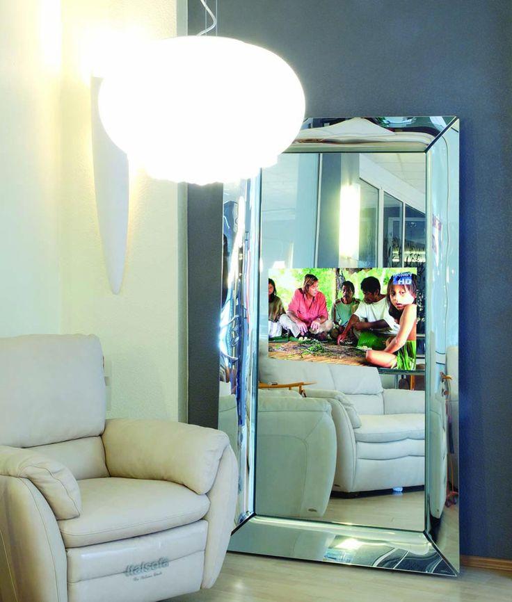 magic mirror czyli telewizor w lustrze #telewizorWlustrze #aranzacjeWnetrz