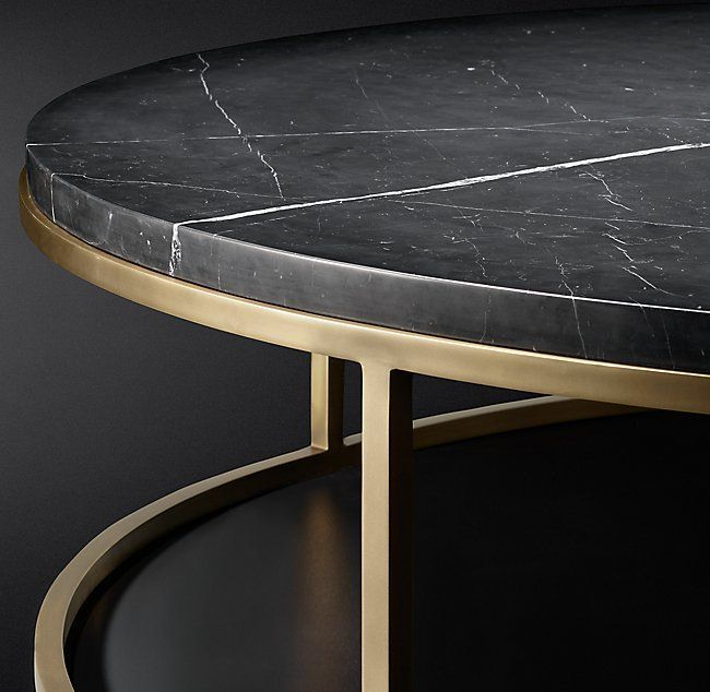 Nicholas Marble Round Coffee Table Stonecoffeetable Blackmarblecoffeetable Roundmarbletable Roundcoffeetable Marbledesk Coffeetabl In 2019 Round Marble Table Black Marble Coffee Table Round Coffee Table