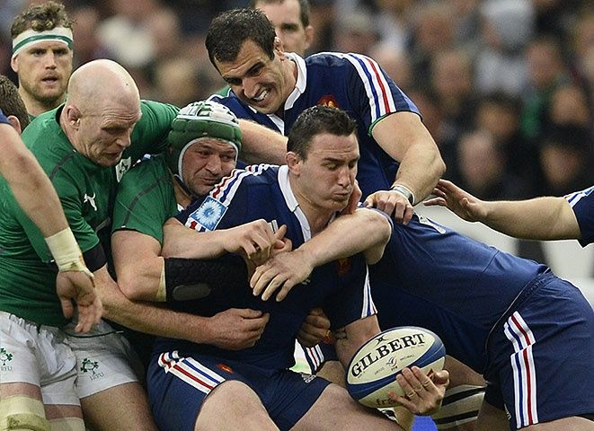 Six Nations: the deciding day for England, France and Ireland – in pictures