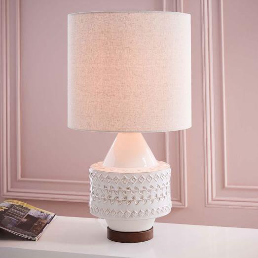 Scandi Ceramic Table Lamp - Medium | west elm