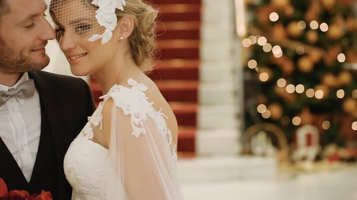 Alexandros and Matilda - a winter wedding in Athens http://www.love4weddings.gr/stylish-christmas-wedding/