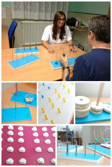 actividades manipulativas terapia ocupacional | Paneles para trabajar la destreza manipulativa en la rehabilitación ...