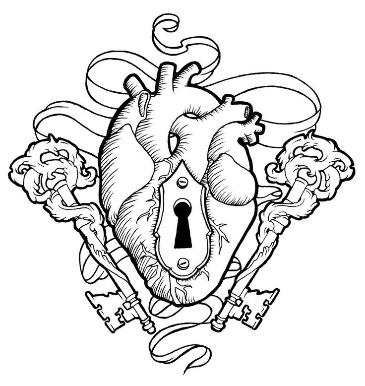 Heart And Keys By Koyasan On DeviantArt
