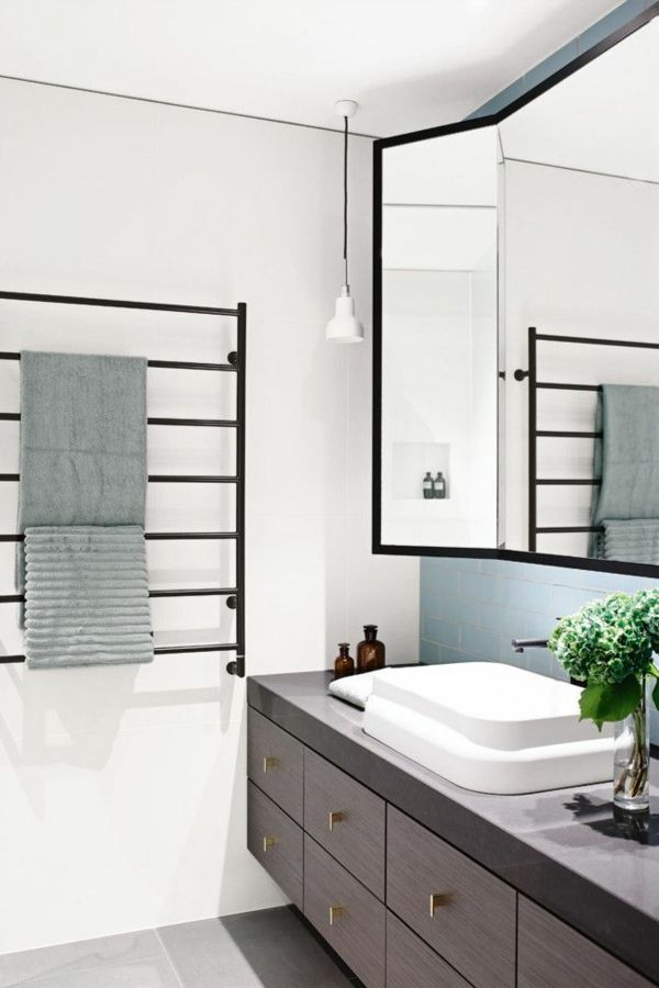 die besten 25 handtuchtrockner ideen auf pinterest. Black Bedroom Furniture Sets. Home Design Ideas
