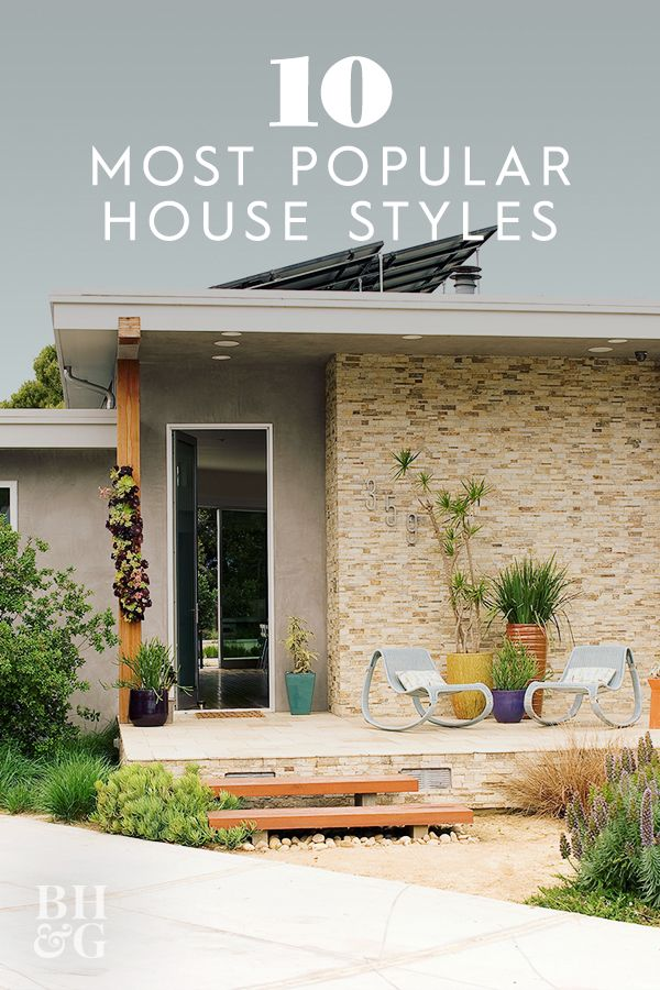 What Style Is Your House The 10 Most Popular House Styles Explained In 2020 House Styles Types Of Houses Styles Curb Appeal