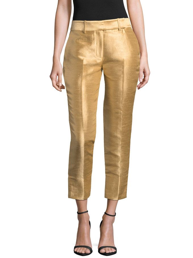 Split Cuff Cropped Pant from Up to 70% Off: Halston Heritage on Gilt