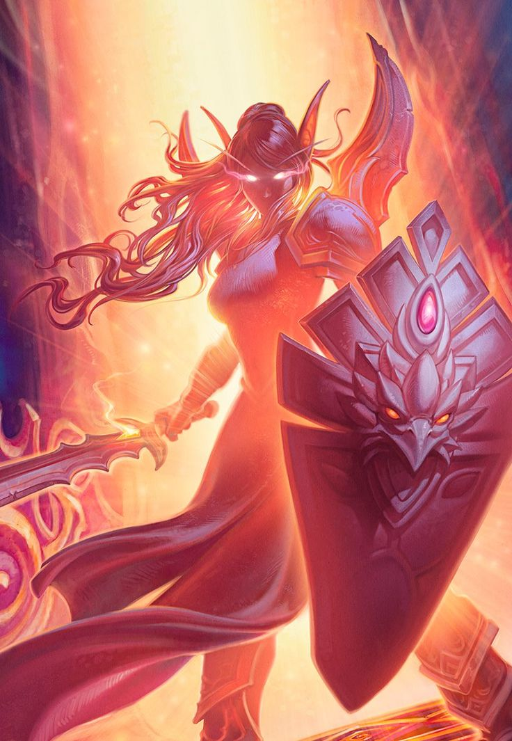 Trailer Art: Lady Liadrin Artist: Eva Widermann