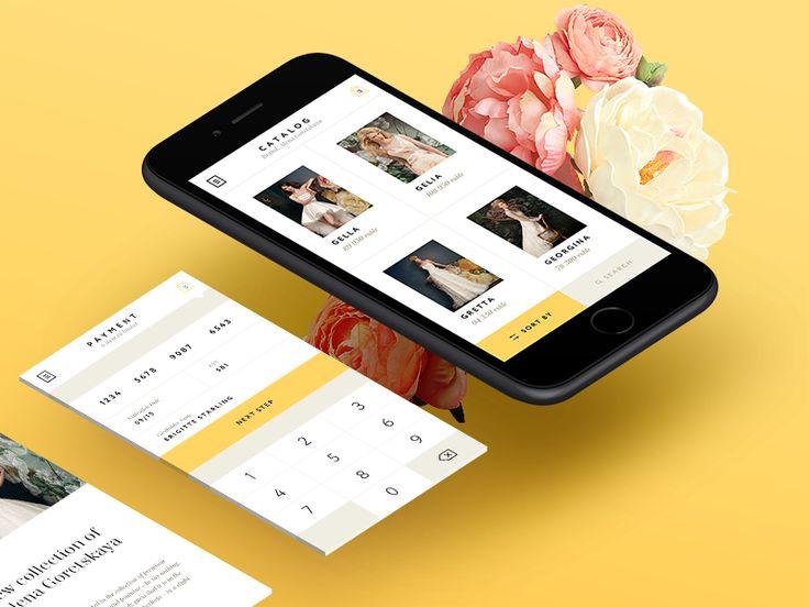 Dribbble - Brigitte Starling Mobile App by Victor Zheldokas