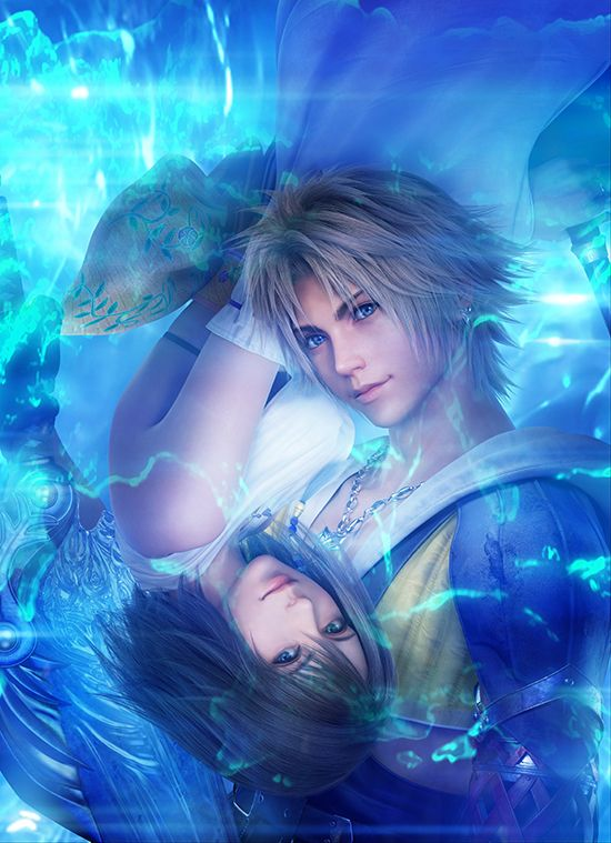 Final Fantasy X/X-2 HD. Cannot wait to pick up my copy of this. Love this cover so so much