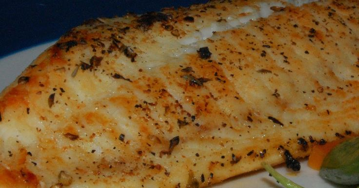 This recipe is super easy and only 3 weight watchers points!   Spray a baking dish.  Season tilapia fillets to taste (I used salt, pepper, o...