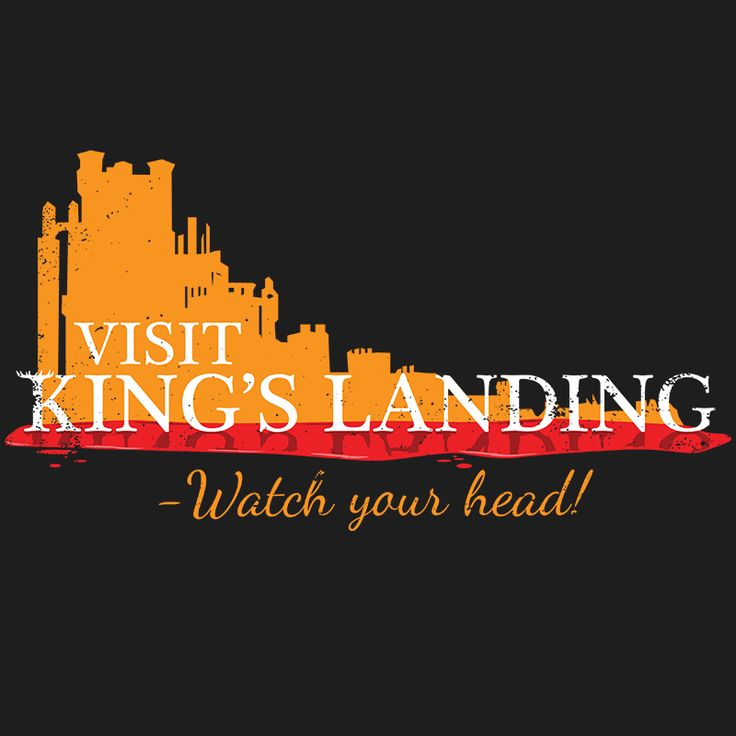 Game of Thrones tourist shirt, from King's Landing