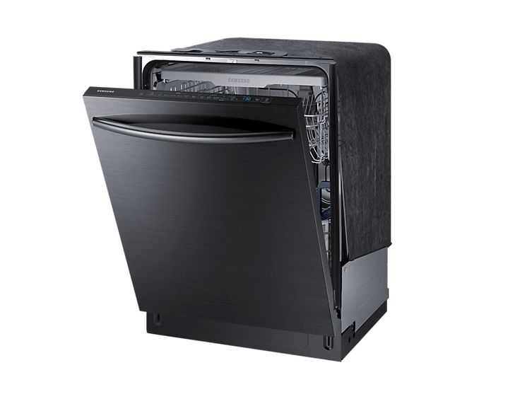 Samsung Black Stainless Dishwasher DW80K7050UG