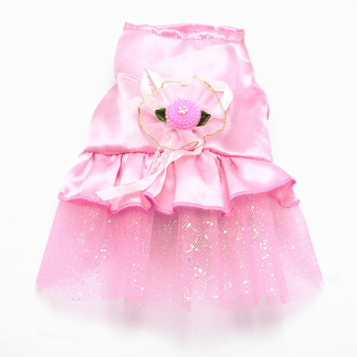 Pet Clothes Mini Lace Dress Dogs Princess Dresses Wedding Dress For Small Dog Clothing Summer D9440