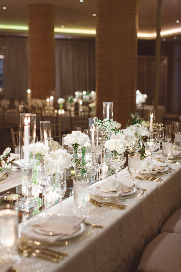 Chic All White Wedding at Four Seasons 30