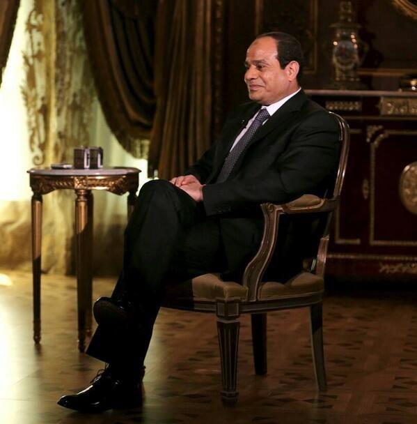 Mr. Field Marshal Abdel Fattah al-Sisi,♥ President of Egypt