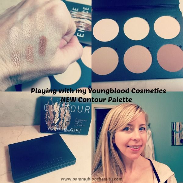 Contouring Made Simple: The NEW Youngblood Cosmetics Contour Palette #ybcosmetics @ybcosmetics