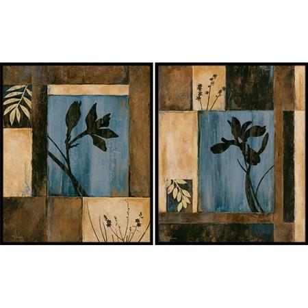 2 piece orchid framed wall art set at joss main salon. Black Bedroom Furniture Sets. Home Design Ideas