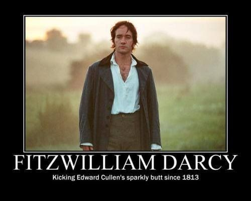 Siiiigh...I think I have said this before, but I loved him in this movie. He is my personal favorite Mr. Darcy.