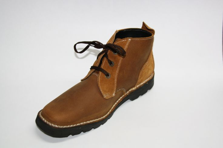 A comfortable lace up boot made in any leather