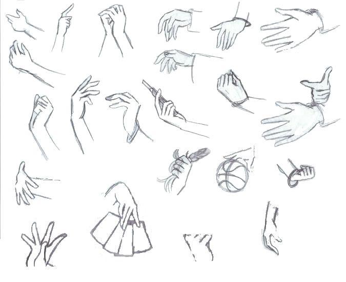 101 best references of animemanga hands images on pinterest