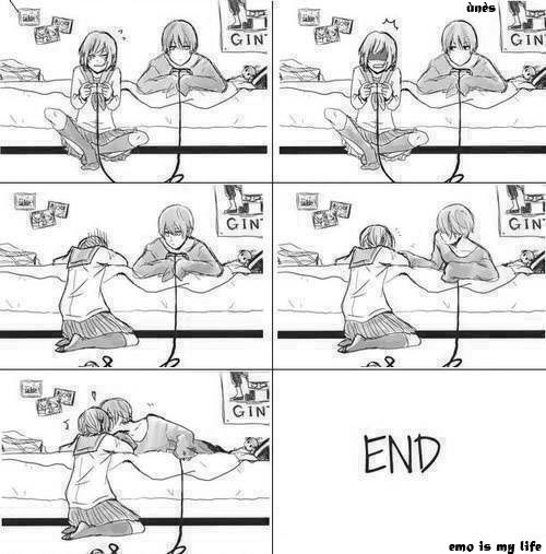 Kinda want my crush to do this to me if we are ever playing a video game together and I die/lose