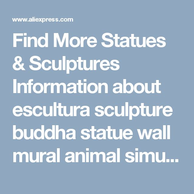 Find More Statues & Sculptures Information about escultura sculpture buddha statue wall mural animal simulation resin Langtou room decor bar Wolf crafts model Indoor decoration,High Quality decoration bar,China decorative decorative Suppliers, Cheap decoration room from Wooden box / crafts Store on Aliexpress.com