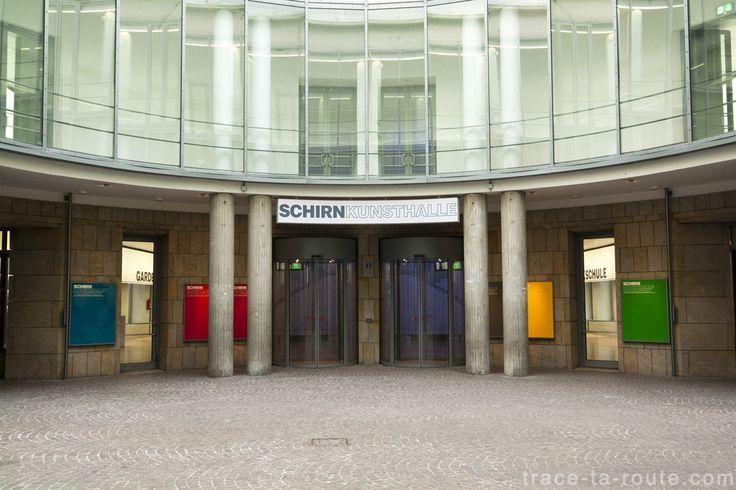 #Schirn #Kunsthalle de #Francfort #Frankfurt #VisitGermany