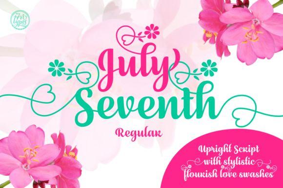 July Seventh - Creative Fabrica