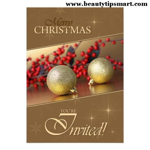 115 best Christmas Invitation Cards images on Pinterest - christmas dinner invitations templates free