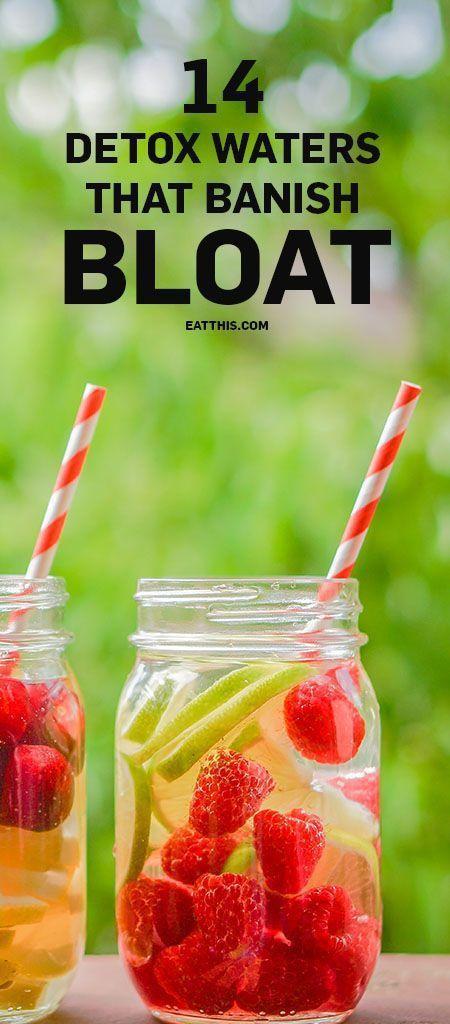 14 Detox Water Recipes That Banish Bloat