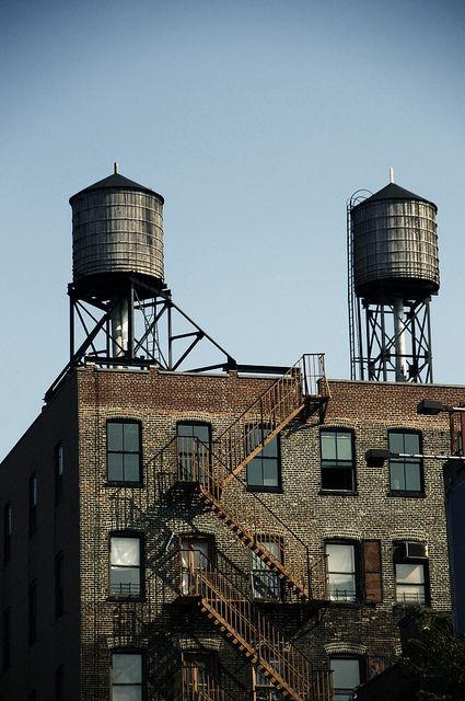 So New York.  Some Water Towers by Monica L. Shulman {CiaoChessa}