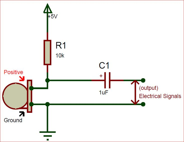 Circuit Using Electret Condenser Microphone